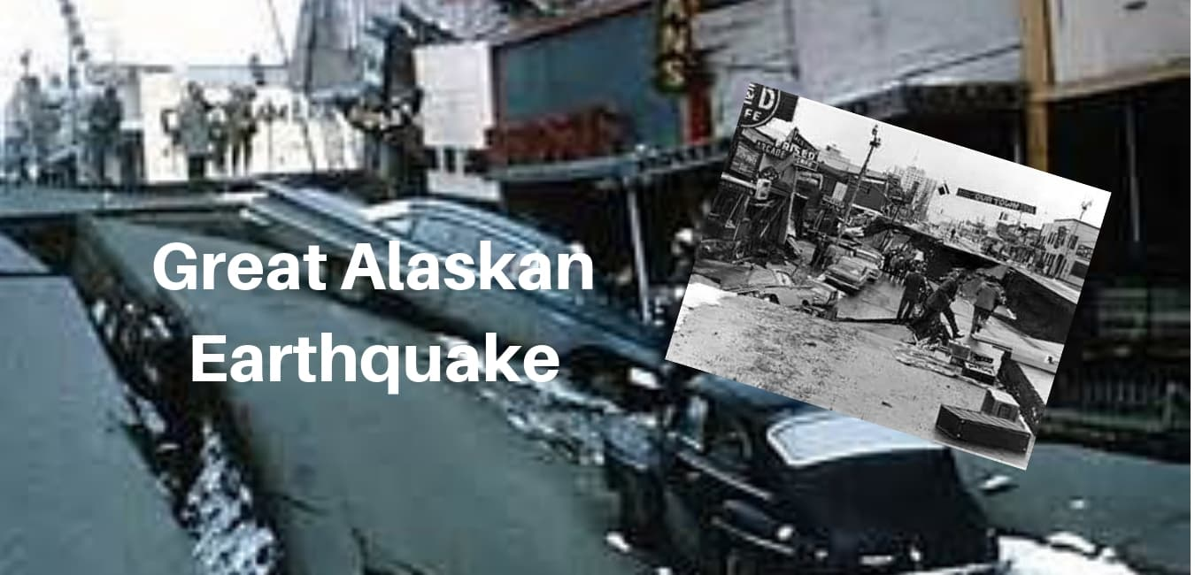 Great Alaska Earthquake stories and pictures.
