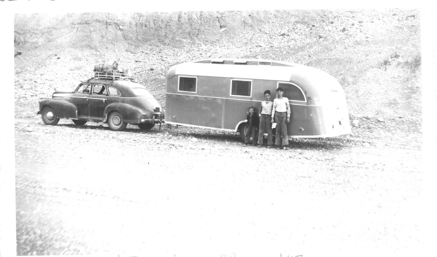 Alaska Highway, the Gough family.