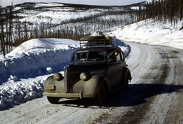 Winter time on the Alaska Canadian Highway