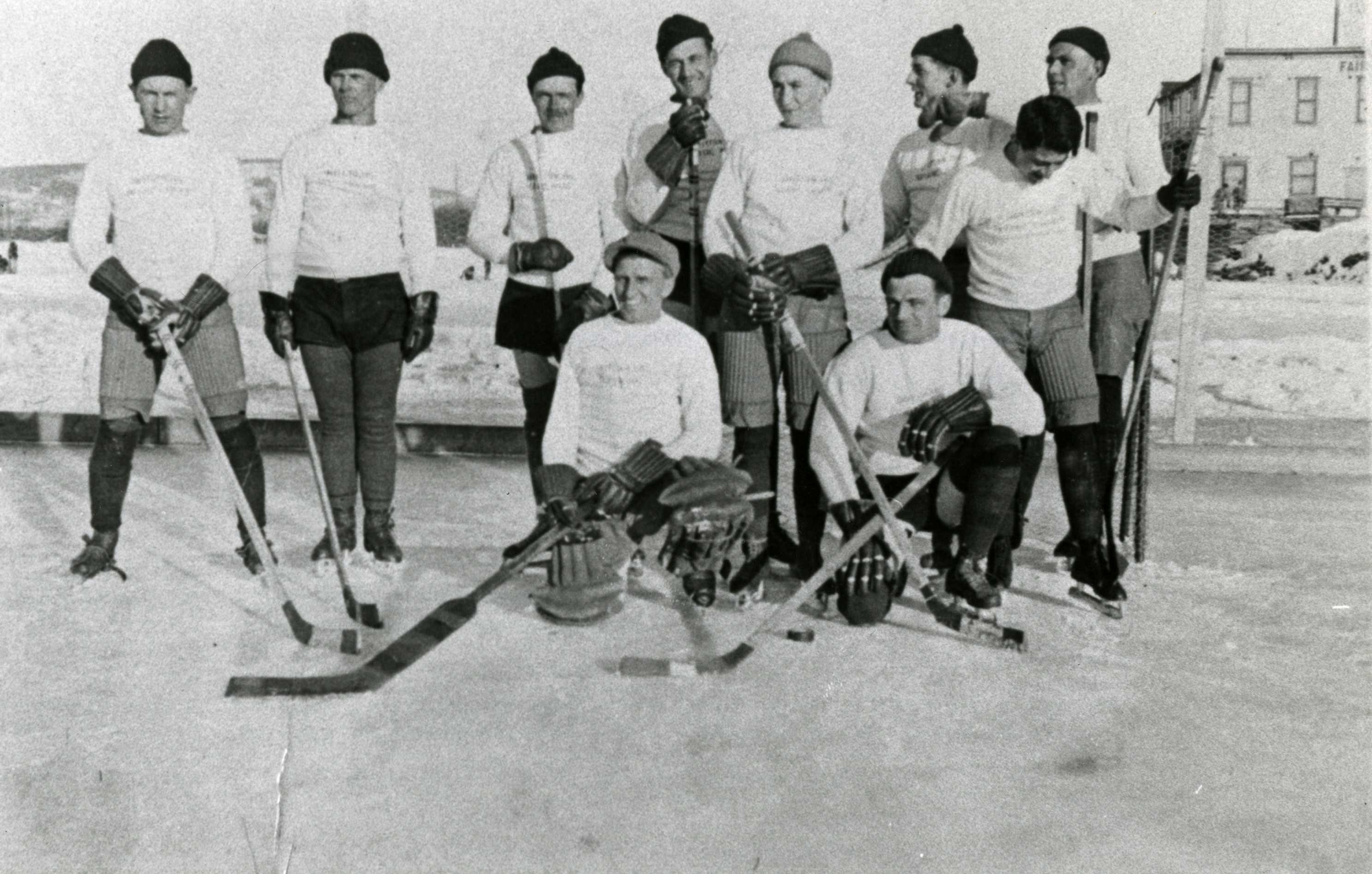 Facts about Anchorage. Anchorage's first Hocky Team came together in 1935. AnchorageMemories.com