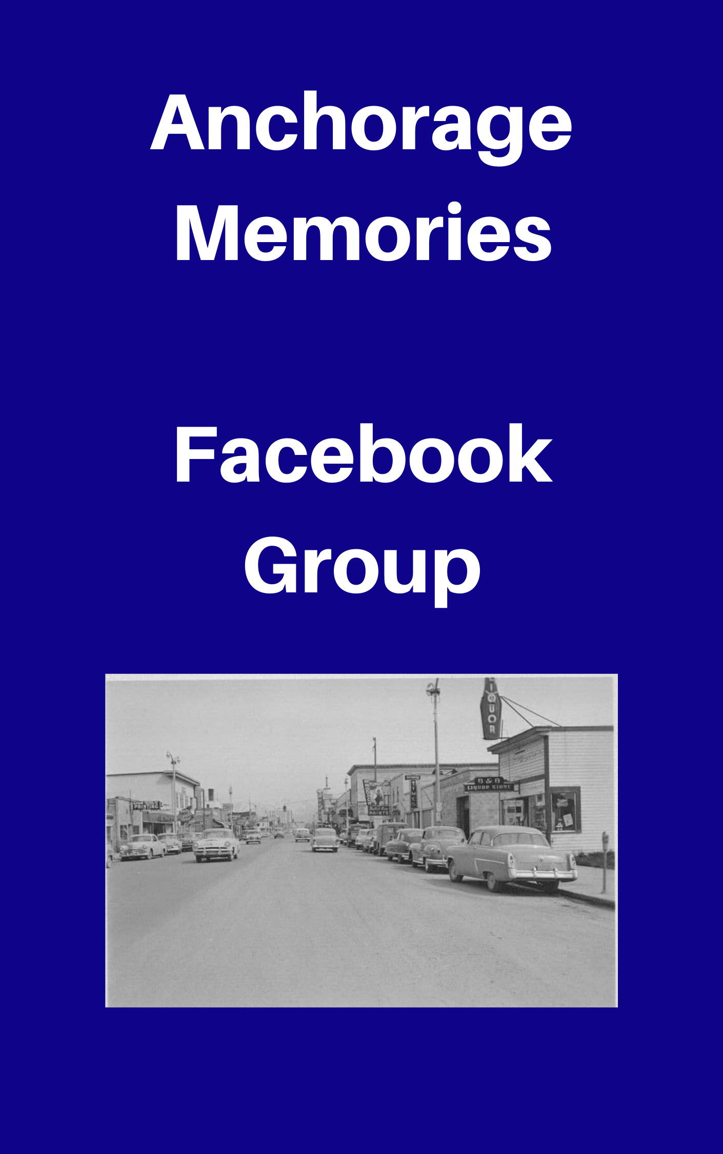 Anchorage Memories Private Facebook Group