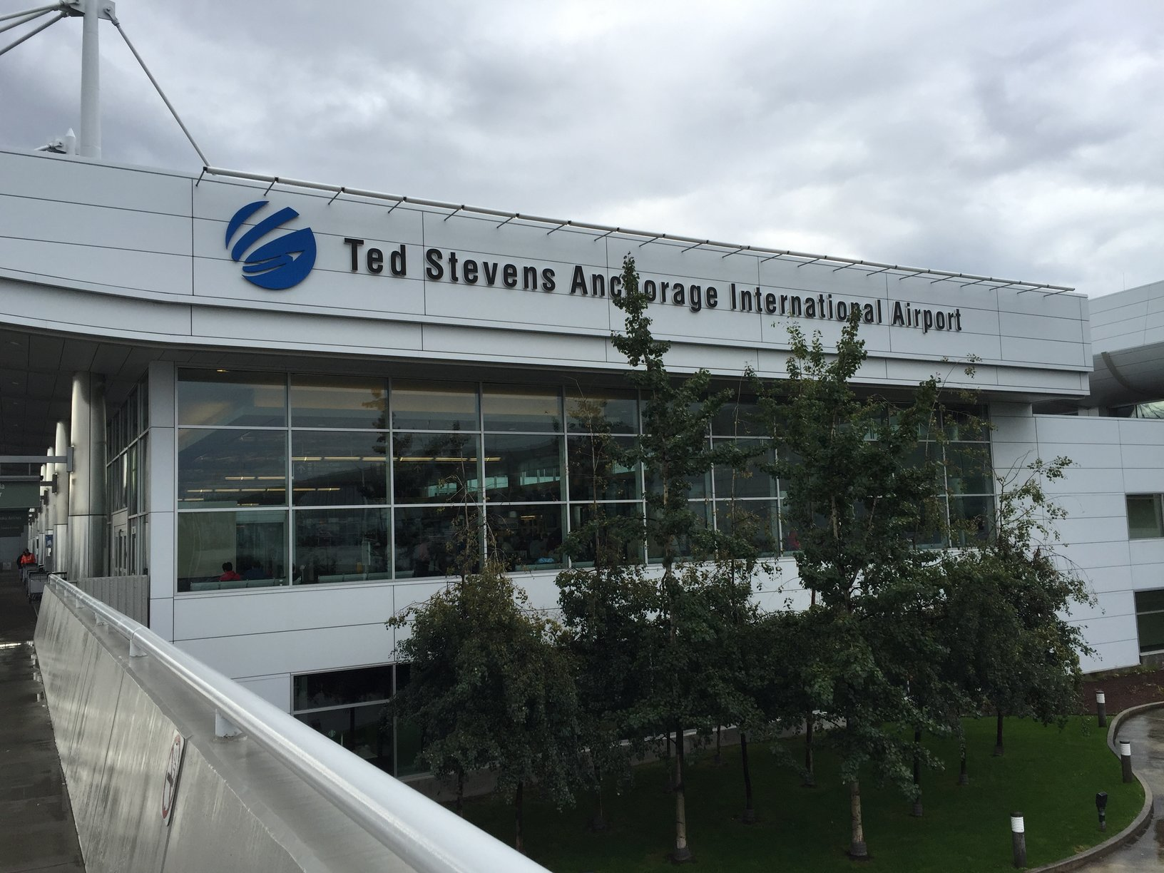 Anchorage Alaska Facts. Anchorage International Airport (now Ted Stevens International) first opened in 1951. AnchorageMemories.com