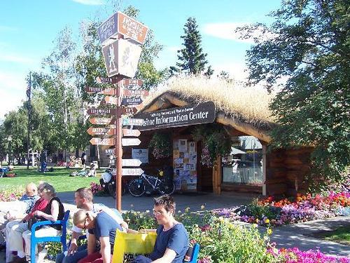 Anchorage Visitor's Log Cabin