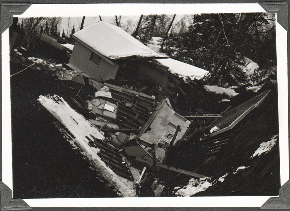 Anchorage 1964 earthquake damage