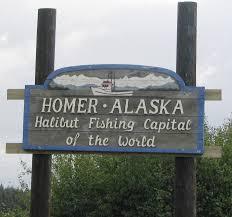 The small town of Homer, Alaska