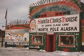 Santa House, North Pole Alaska