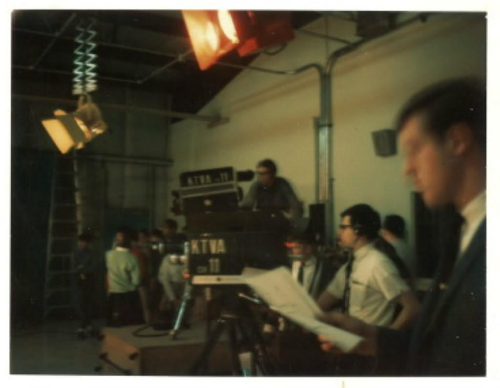 High school teens behind the cameras