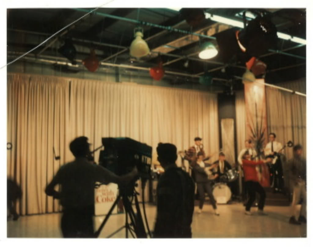 1967 TV crew and live band
