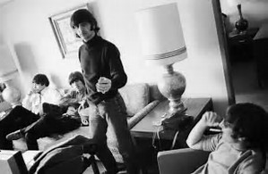 Beatles waiting in their Anchorage Westward suite