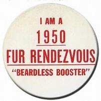 1950 Rondy Button