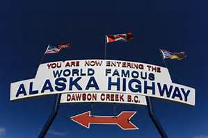 Alaska Highway, also known as the Alcan Highway - Anchorage Memories.com