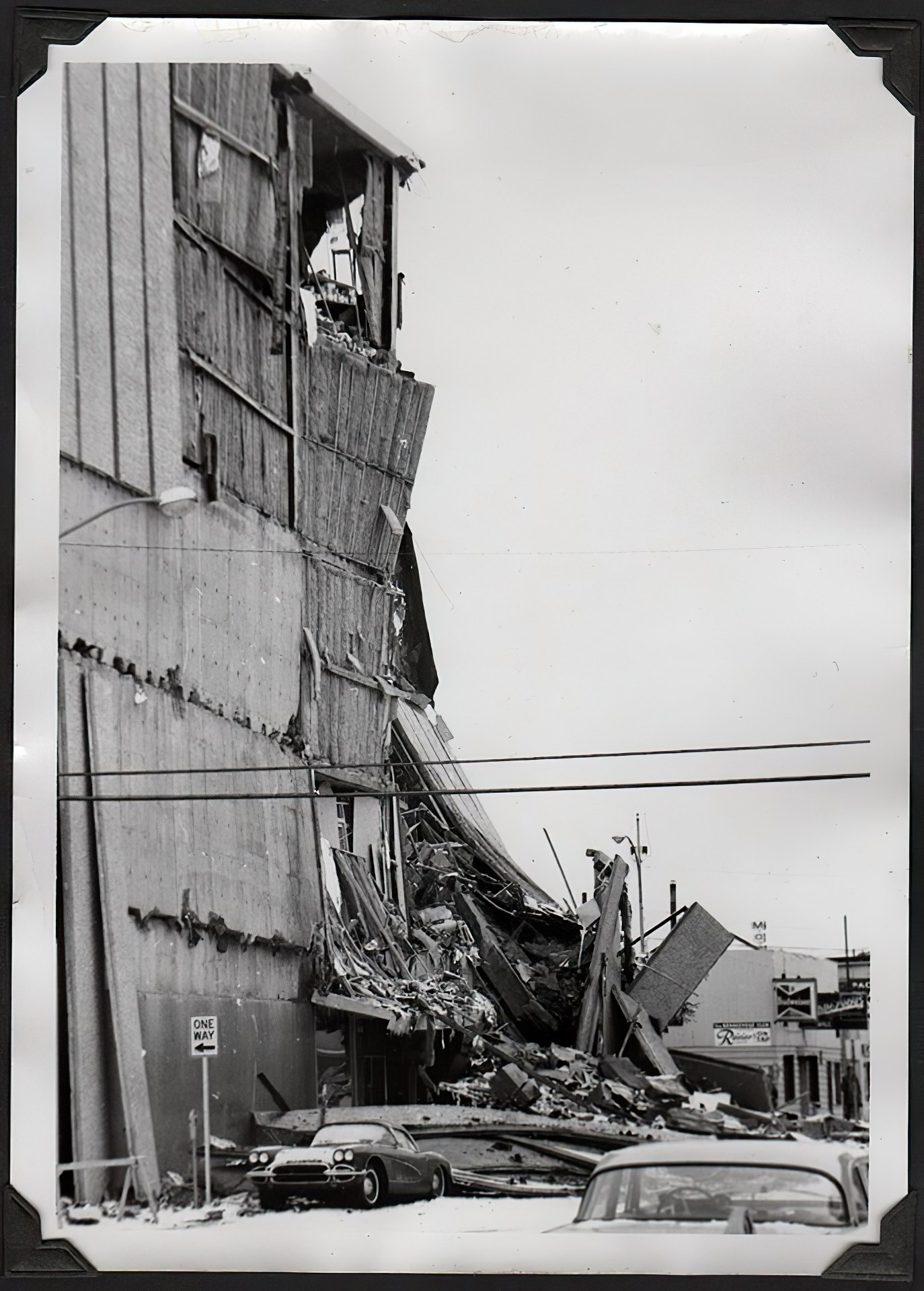 JC Penney Building after the Good Friday earthquake