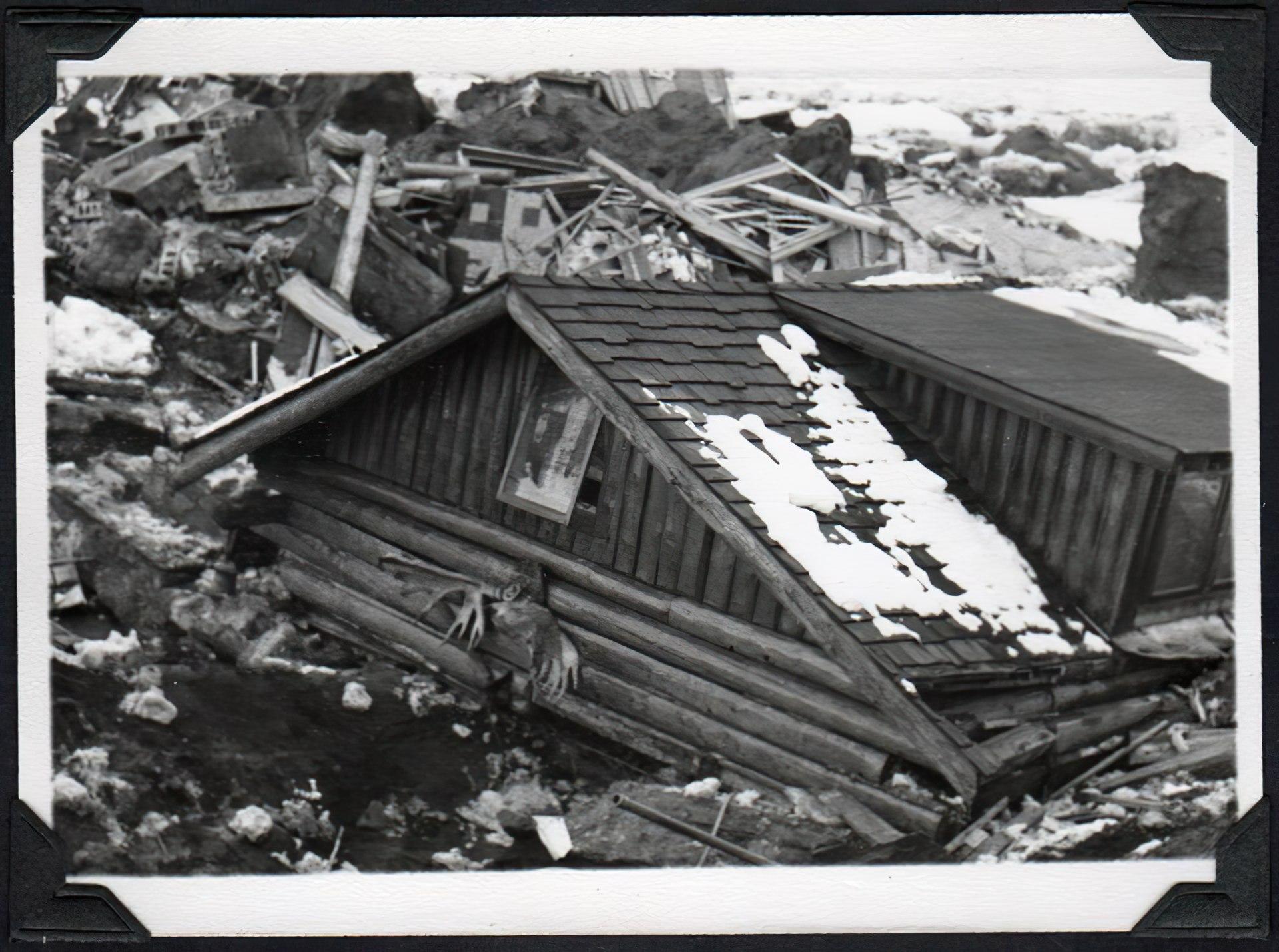 Good Friday earthquake damaged home in Anchorage Alaska