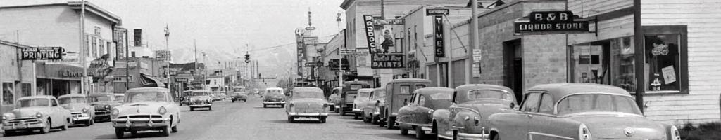 Anchorage, Alaska 1953