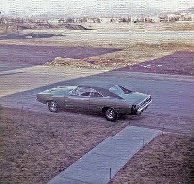 My old 1968 Dodge Charger